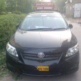 Ibraheem Driving Toyota Corolla